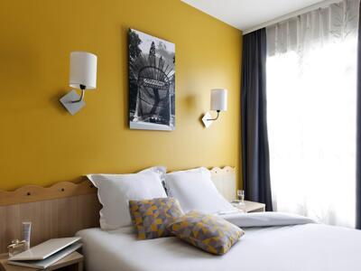 Foto de una habitación de Aparthotel Adagio Marne La Vallée - Val d'Europe