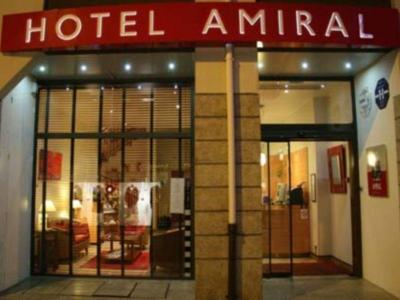 Foto do exterior - Hotel Amiral