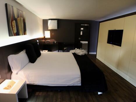 Foto de una habitación de Hotel President