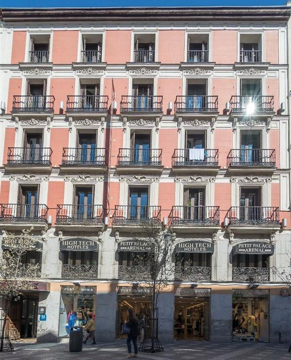 Hotel petit palace opera madrid for Hotel arenal madrid