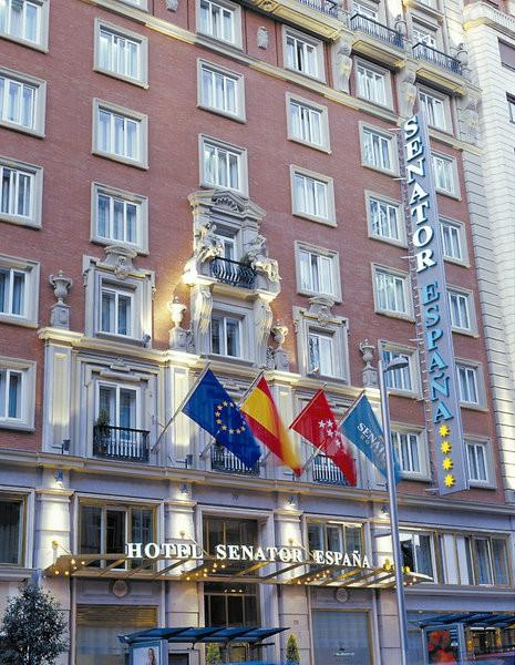 Senator gran v a 70 spa hotel madrid for Hoteles vanguardistas en madrid