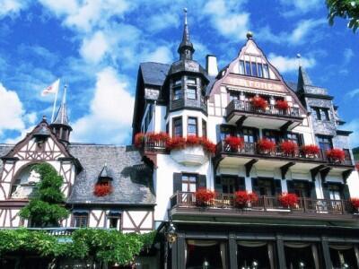 Foto degli esterni Hotel Krone Assmannshausen