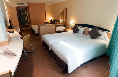 Foto de una habitación de Hotel Tropical