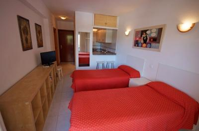 Foto de una habitación de Apartamentos Tamarindos