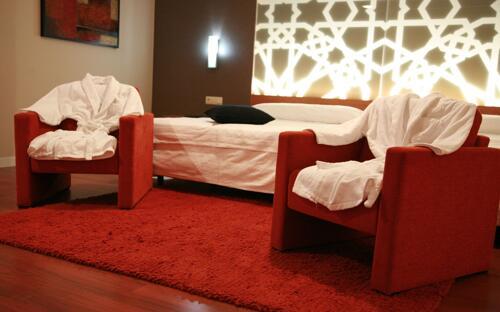 Foto de una habitación de Hotel Granada Palace