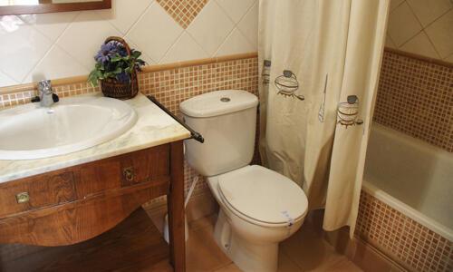 Salle de bains - Apartamentos Prados de Velarta