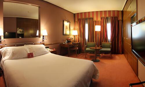 Foto de una habitación de Hotel Palafox