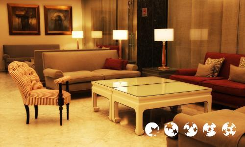 Foto de las zonas nobles de Hotel Becquer