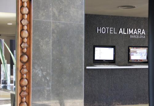Foto del exterior de Hotel Alimara