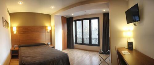 Foto de una habitación de Hotel Via Augusta