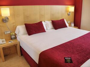 """Foto de una habitación de """"Hotel Sercotel Portales"""""""