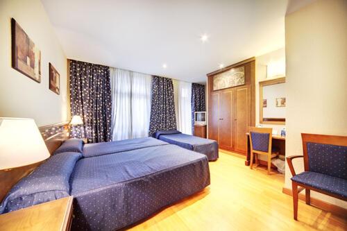 Foto de una habitación de Hotel San Cristóbal