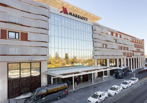 Foto del exterior de Madrid Marriott Auditorium Hotel & Conference Center
