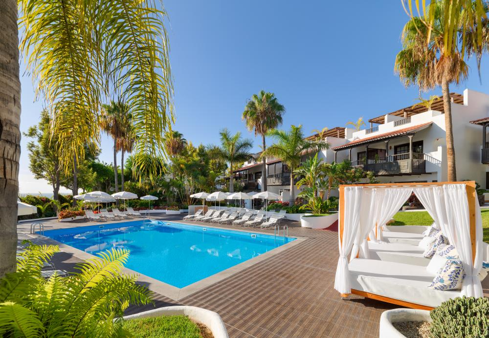 Hotel jardin tecina playa de santiago for Jardin tecina la gomera