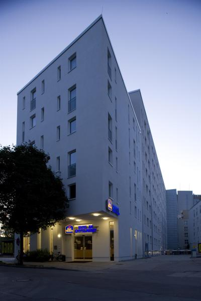 Foto do exterior - Best Western Hotel Am Spittelmarkt