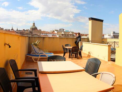 Foto area ristorante Hotel Paris Centro
