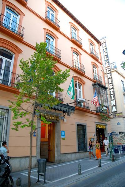 Foto del exterior de Hotel Reina Cristina