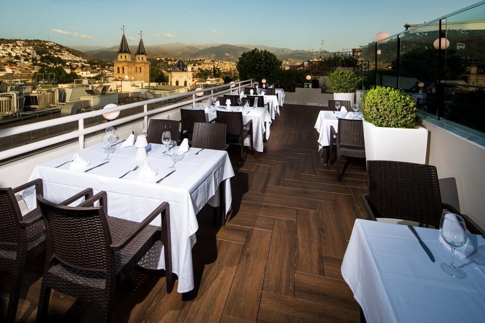 Hotel Barcelo Carmen Granada Terraza Unpastiche Org