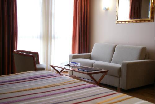 Foto de una habitación de Hotel Amadeus