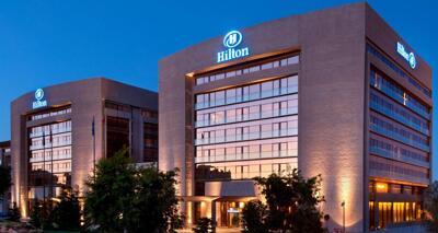 Foto del exterior de Hilton Madrid Airport