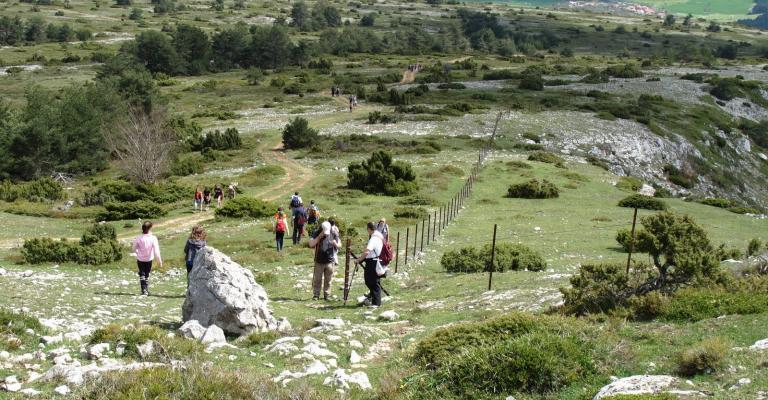 Fotografía de Burgos: Ecosenda Valle de Tobalina