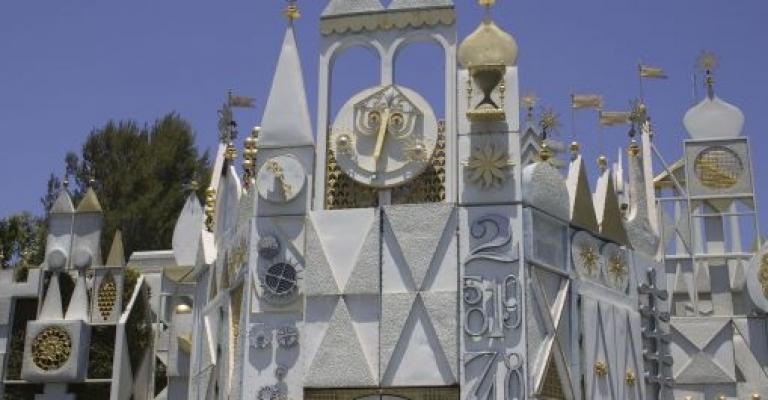 Foto von Kalifornien: Glockenspiel, the rocking clock face