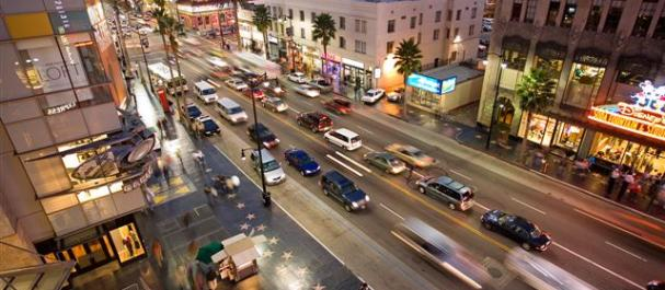 Picture Los Angeles: Hollywood boulevard