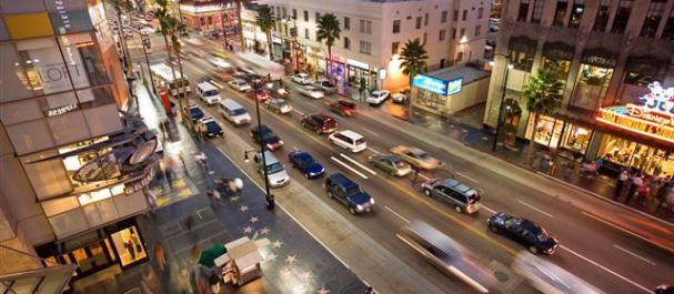 Fotografía de Los Angeles: Hollywood boulevard