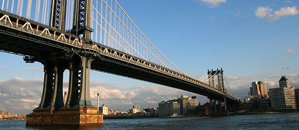 Fotografía de Stati Uniti: New York, Brooklyn Bridge
