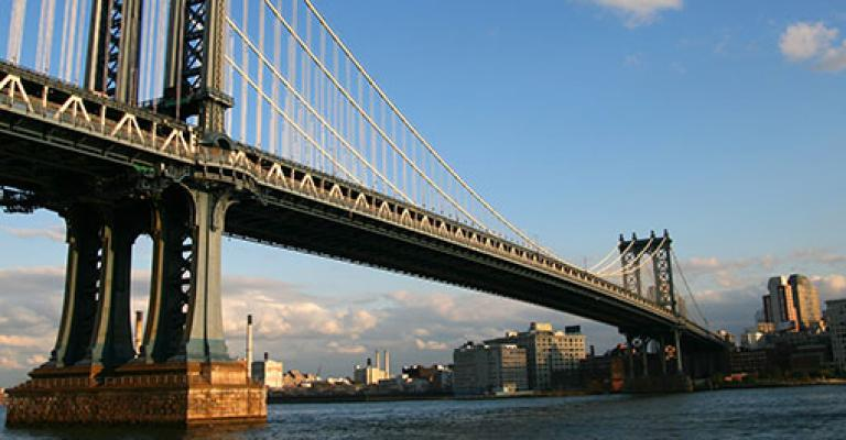 Photo États-Unis: New York, Brooklyn Bridge