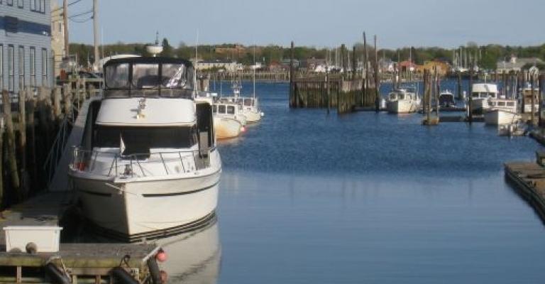 Foto Maine: El puerto de Portland, Maine