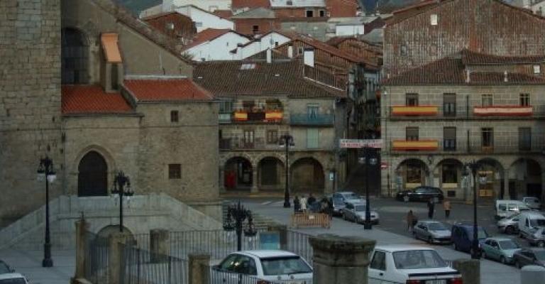 Fotografía de Bejar: La Plaza de Bejar