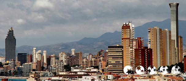 Foto von : Vista de Benidorm