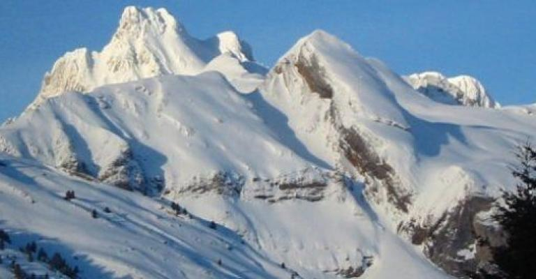 Fotografía de Candanchú: El Pico de Aspe, la sección superior la Tuca