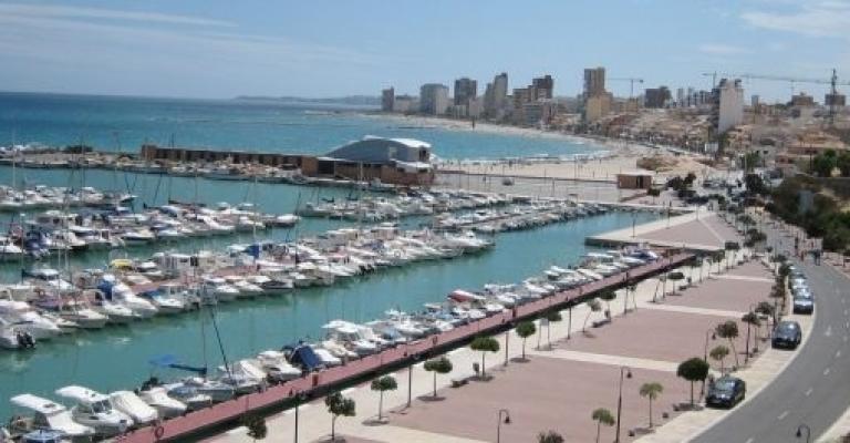 Fotografía de Campello: Vista del puerto y la playa de El Campello