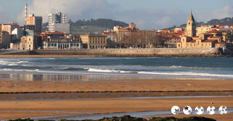 Photo : Gijón playa