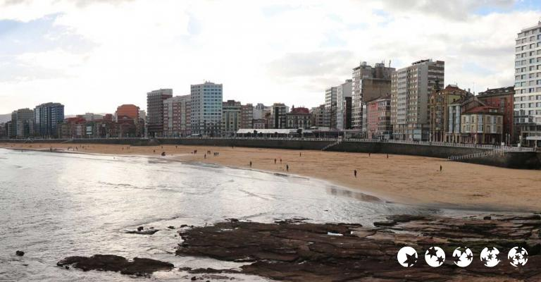 Picture : Gijón playa