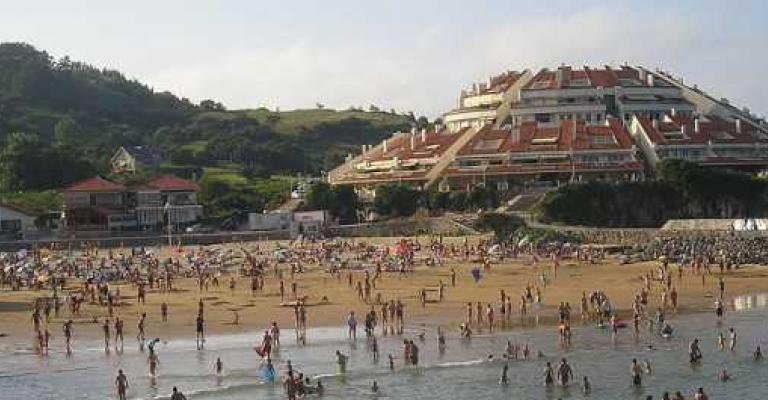 Foto : La playa de Isla