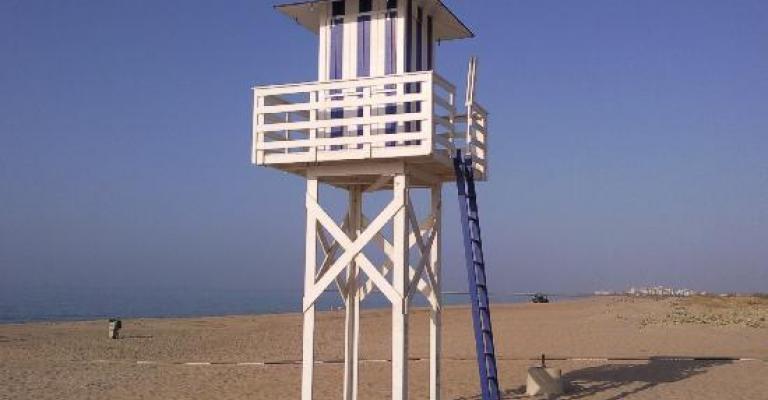Fotografía de Isla Cristina: Puesto de socorro de playa