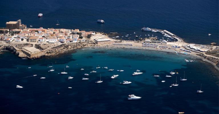 Fotografía de Isla de Tabarca: El puerto de Tabarca