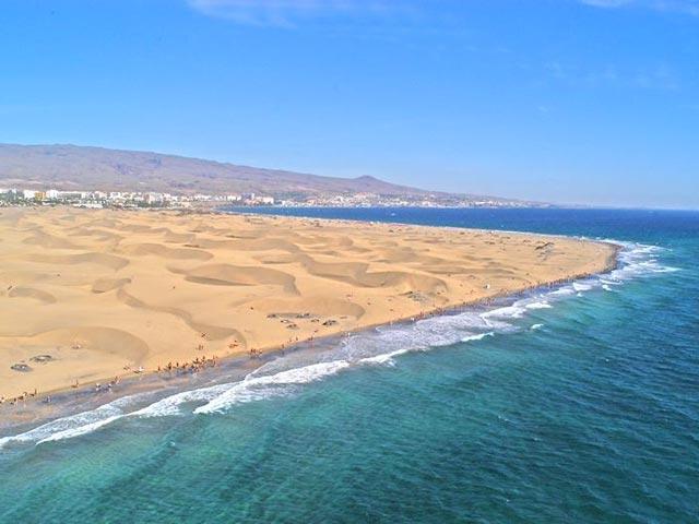 playa de maspalomas el tiempo