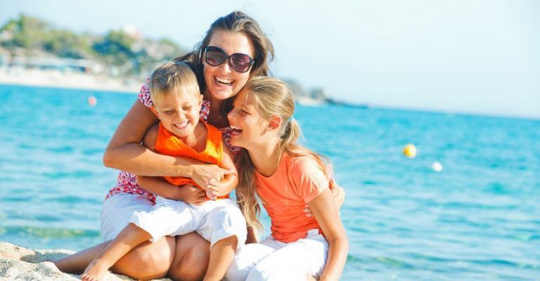 Picture Miami Playa: Familia playa