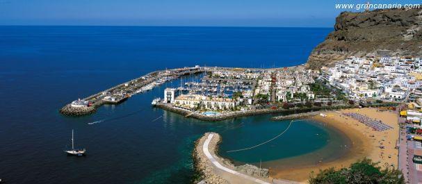 Hoteles en mog n isla de gran canaria tu hotel en - Pension eva puerto de mogan ...