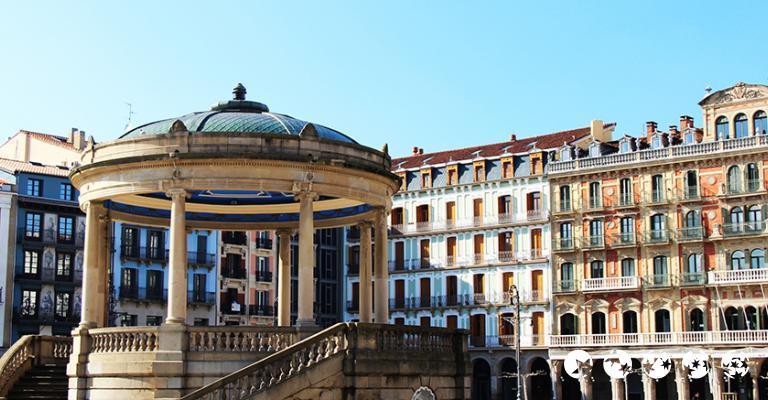 Foto von Pamplona: Plaza del Castillo