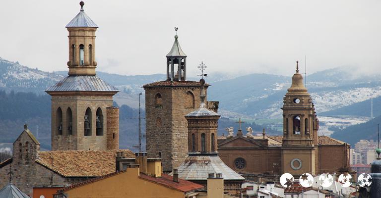 Foto von Pamplona: Tejados
