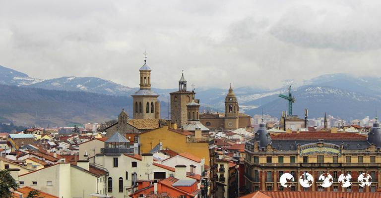 Foto von Pamplona: Tejados en Pamplona