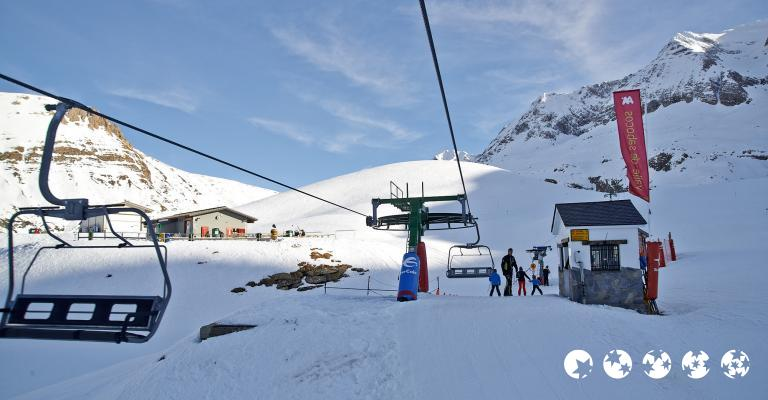Photo Huesca: Esquiar en Panticosa