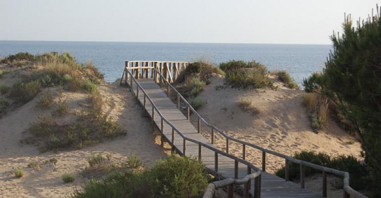 Fotografía de Punta Umbría: Pasarela a a la playa