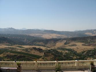 Vistas desde Ronda