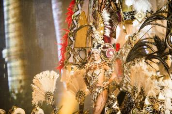 La Reina del Carnaval de Santa Cruz